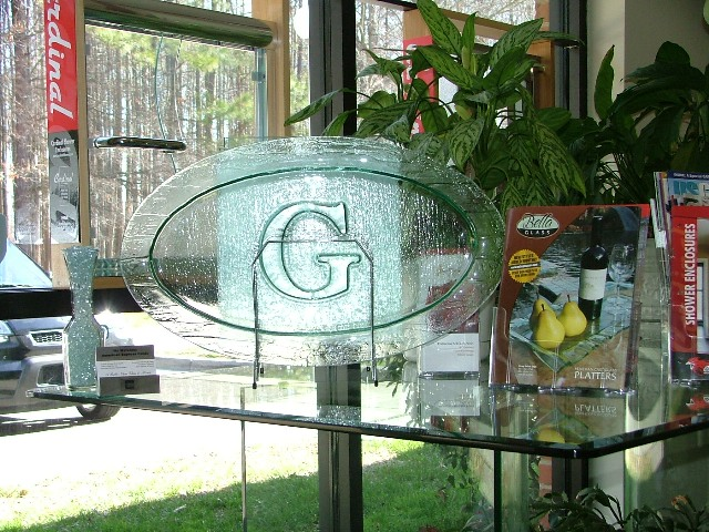 A Better View Glass and Mirror Custom Glass Platters and Glass 